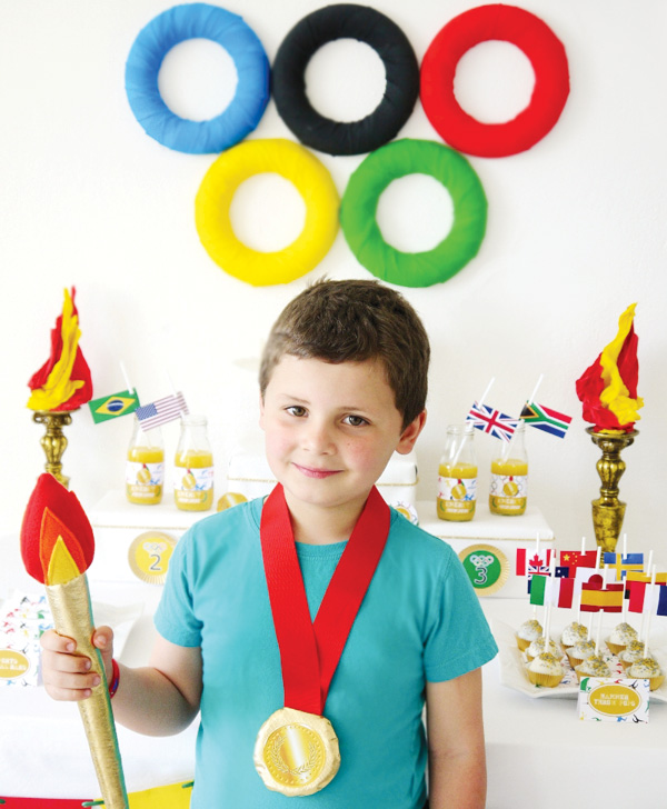 Олимпийские медали своими руками