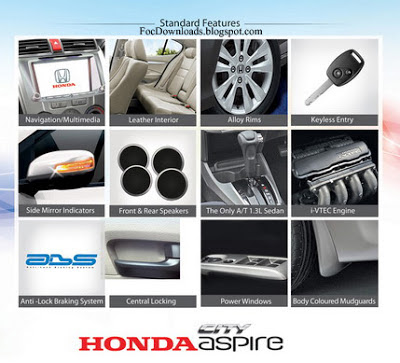 Honda City Aspire 2013 parts