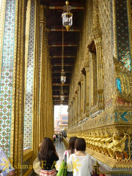 Temple of Emerald Buddha in Bangkok Grand Palace