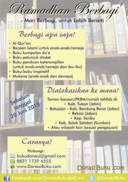 Ramadhan Berbagi - Donasi Buku