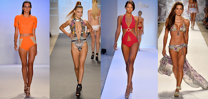 Miami Mercedes Benz Fashion Week: The Swim 2014 Collections.