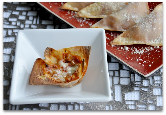 pizza roll wontons