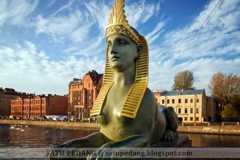 Kisah Sphinx di Saint Petersburg