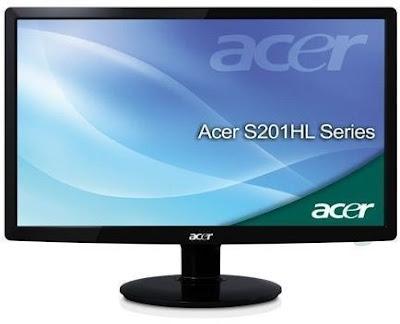 new Acer S201HLbd