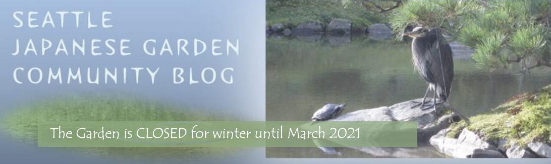 Seattle Japanese Garden Community Blog