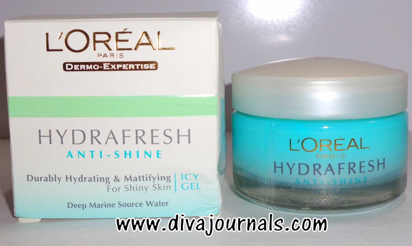 Loreal Hydrafresh Anti-shine Icy Gel Review