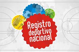 REGISTRO DEPORTIVO NACIONAL
