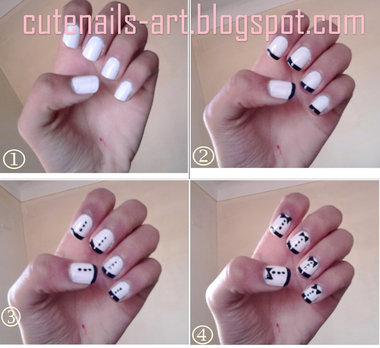 Toothpick Nail Art Designs: Nail Art Using Toothpicks#*^