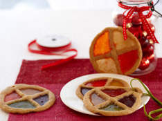 How to make Stained Glass Cookie Ornaments.