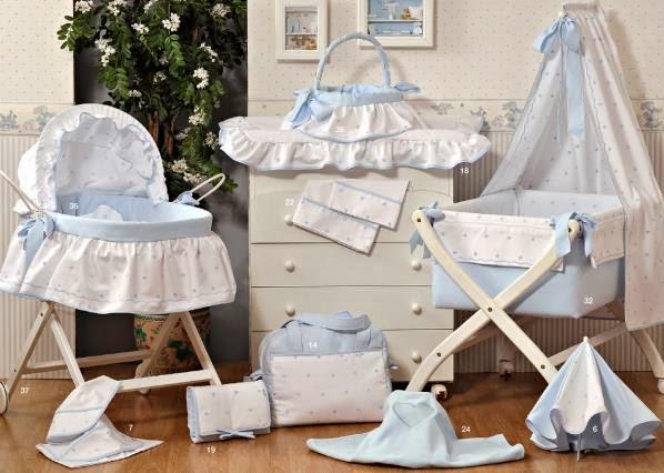 Brenda salas taller artesanal completa linea romantica - Vestir cuna bebe ...