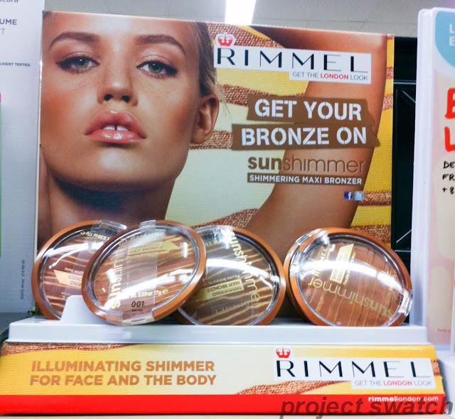 Rimmel Sunshimmer Shimmering Maxi Bronzer