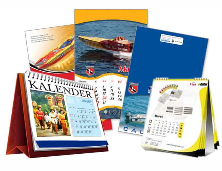 Media Promosi Kalender Kalender Merupakan Media