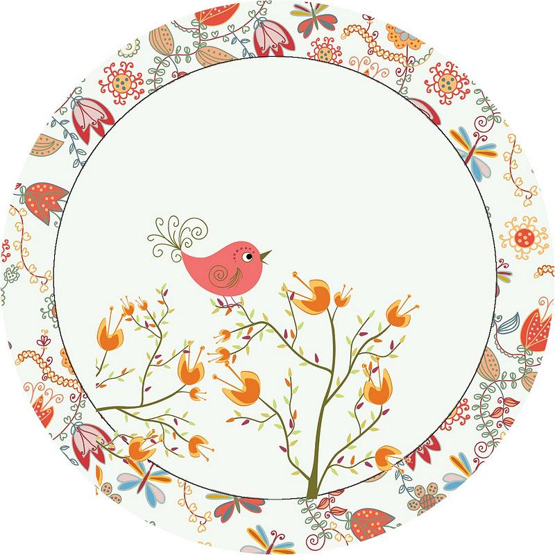 imagens jardim encantado : imagens jardim encantado:Imprimibles de jardín vintage con pajaritos 2.