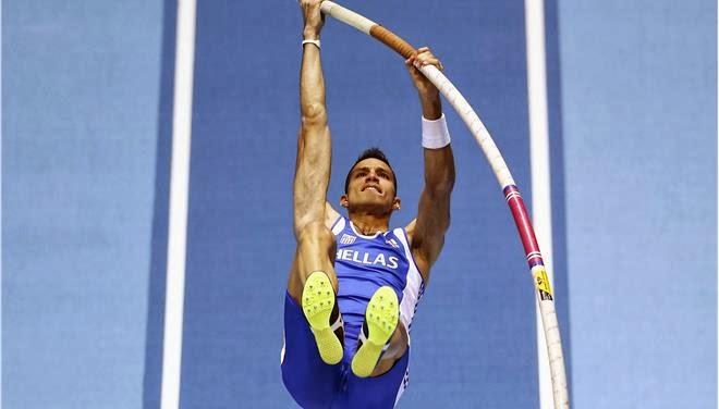 Παγκόσμιος πρωταθλητής στο επί κοντώ ο Κώστας Φιλιππίδης, με επίδοση 5,80 μ.