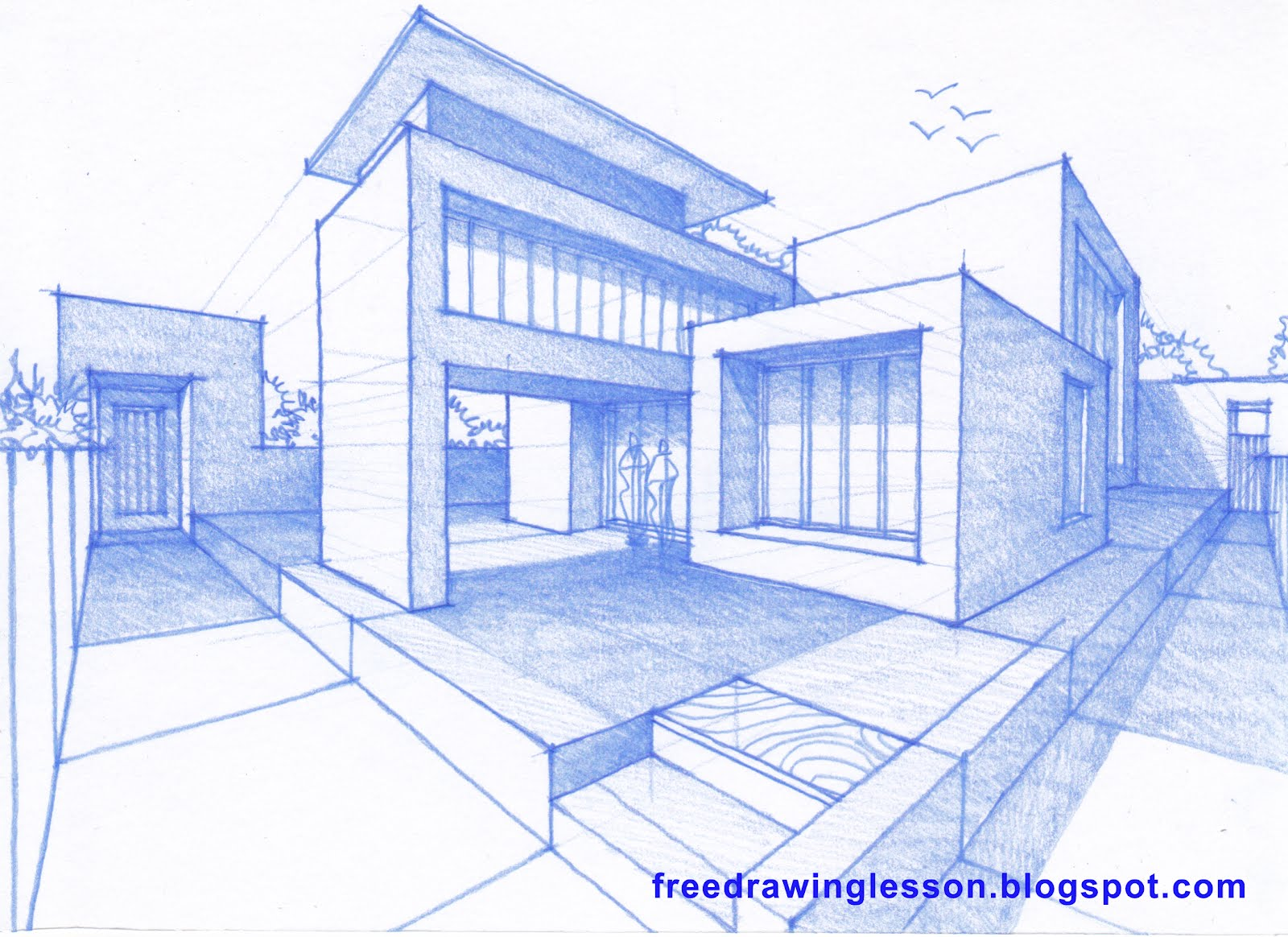 How to draw a house learn to draw Draw your house