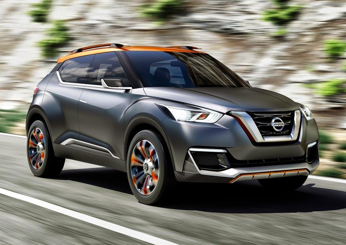 nissan kicks compact suv concept revealed car reviews. Black Bedroom Furniture Sets. Home Design Ideas