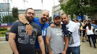 """Un gruppo di """"orsi"""" al gay pride di Milano, 2013. Immagine tratta dal sito ufficiale degli """"Orsi Italiani"""""""