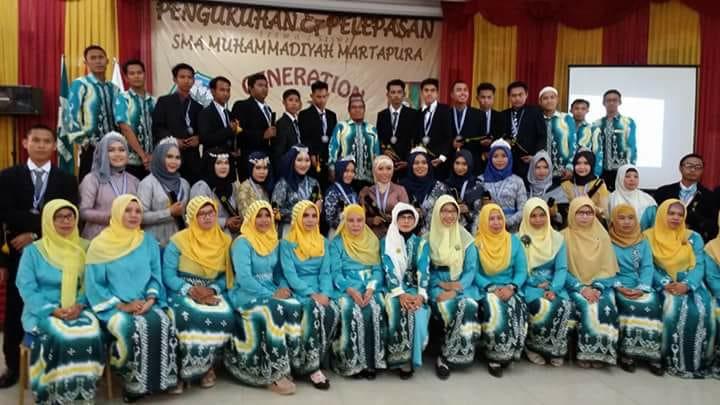 Pendidik dan Tenaga Kependididkan  SMA Muhammadiyah Martapura