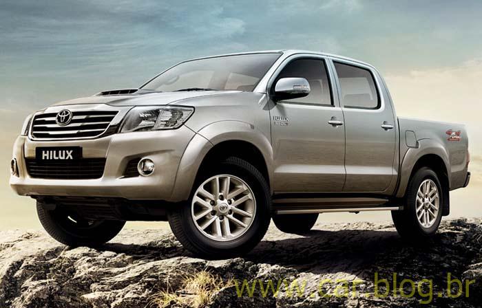 Toyota Hilux 2012 - perfil