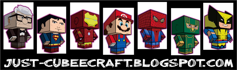 CUBEECRAFT TEMPLATES ( PAPERCRAFT)