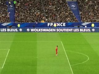 France - Brésil: Volkswagen fait une faute à son propre nom dans une pub