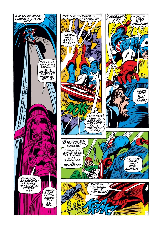 Captain America (1968) Issue #129 #43 - English 17