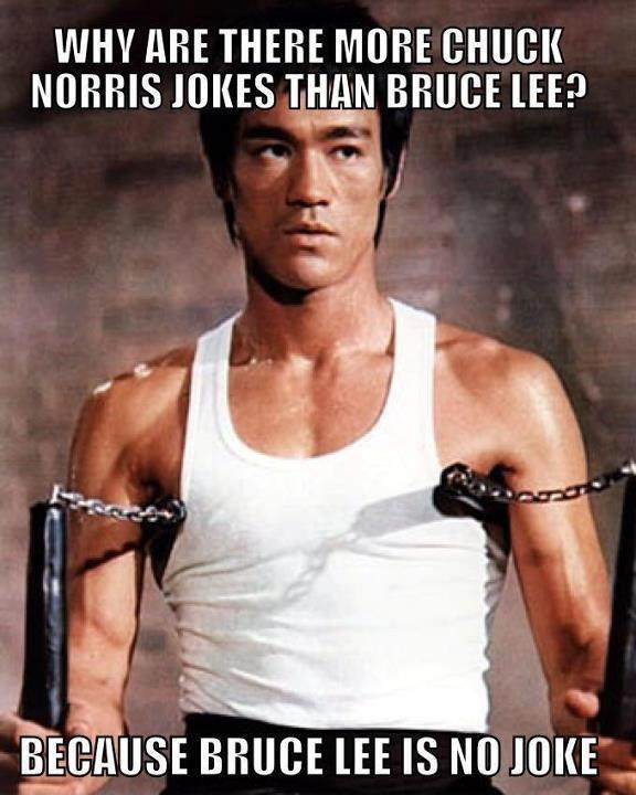Why Are There More Jokes About Chuck Norris Than Bruce Lee?