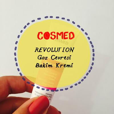 Cosmed - Yenileyici Göz Çevresi Bakım Kremi
