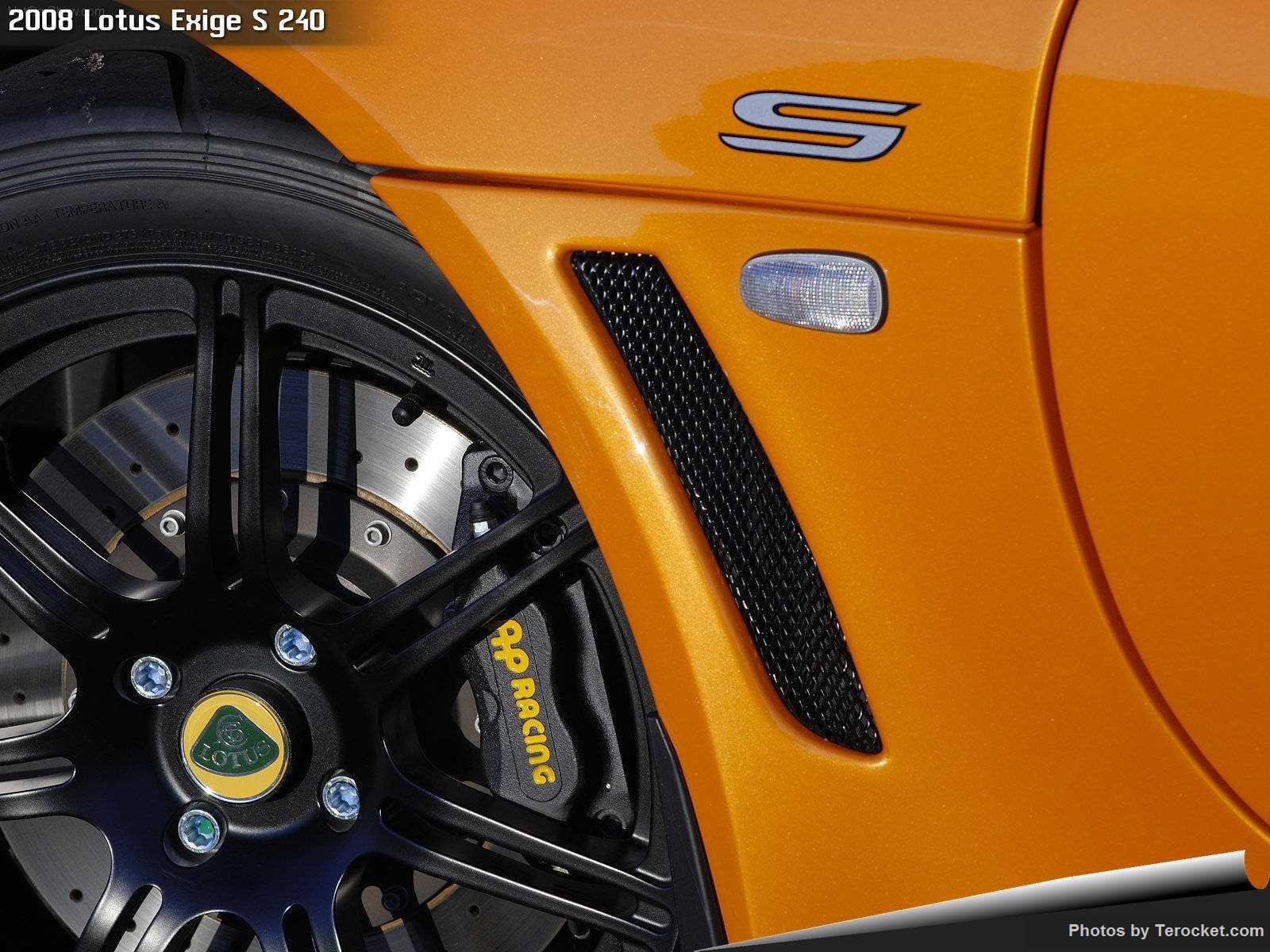 Hình ảnh siêu xe Lotus Exige S 240 2008 & nội ngoại thất