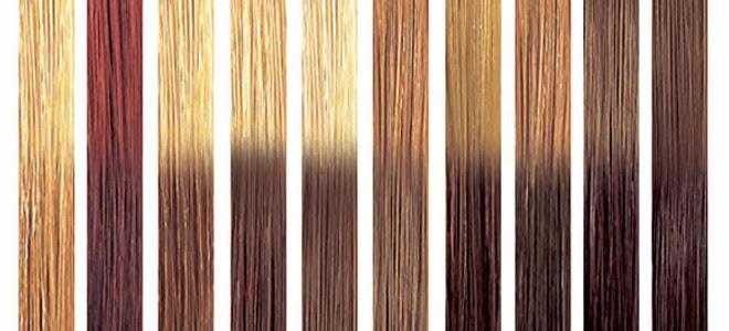 californianas invertidas o inversas (también llamada técnica lift color) que mantienen el efecto degradado pero esta vez con los tonos más oscuros en