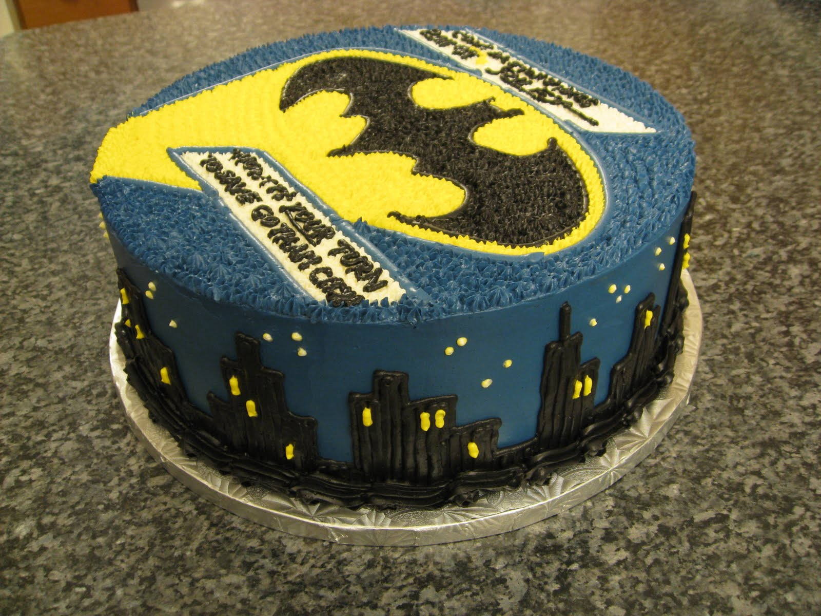 Lego Batman Sheet Cake