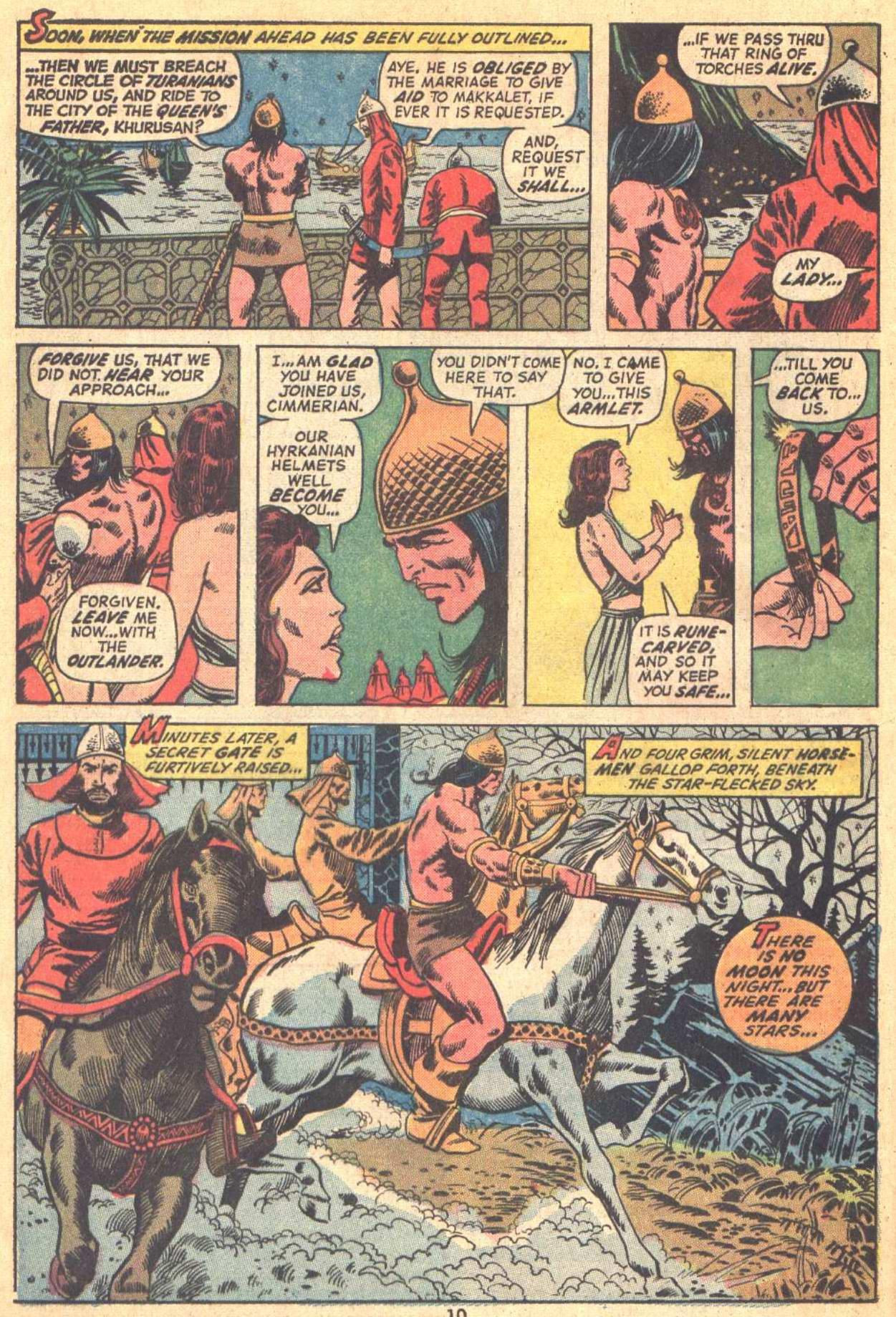 Conan the Barbarian (1970) Issue #21 #33 - English 8