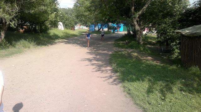 Дорога в Силинском парке