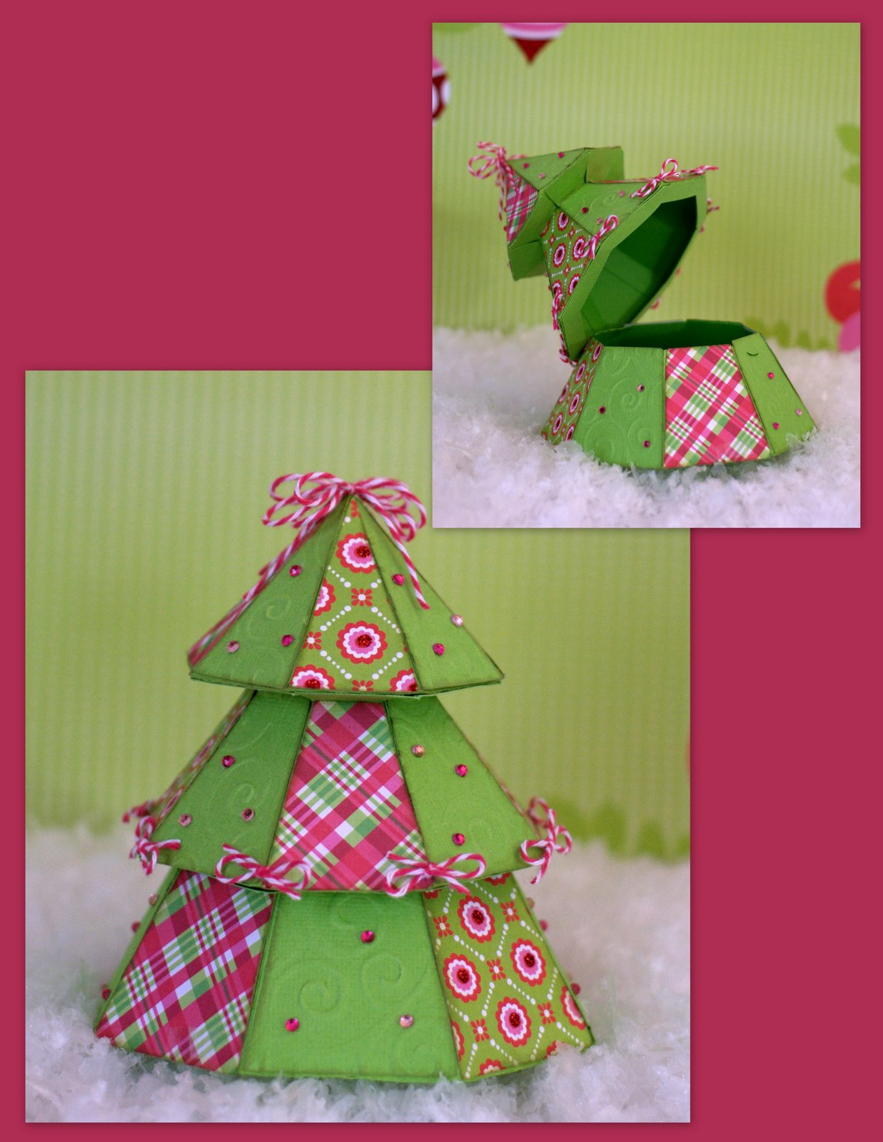Dragonfly designs christmas tree box for Christmas tree in a box