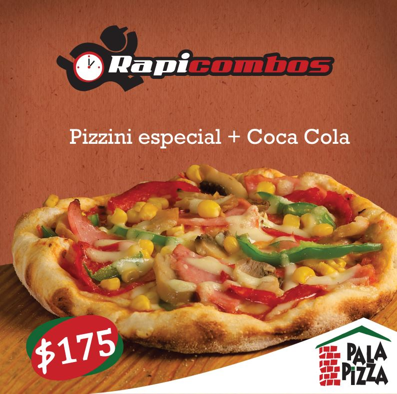 Promocioned pizzini especial en pala pizza for Pala para pizza