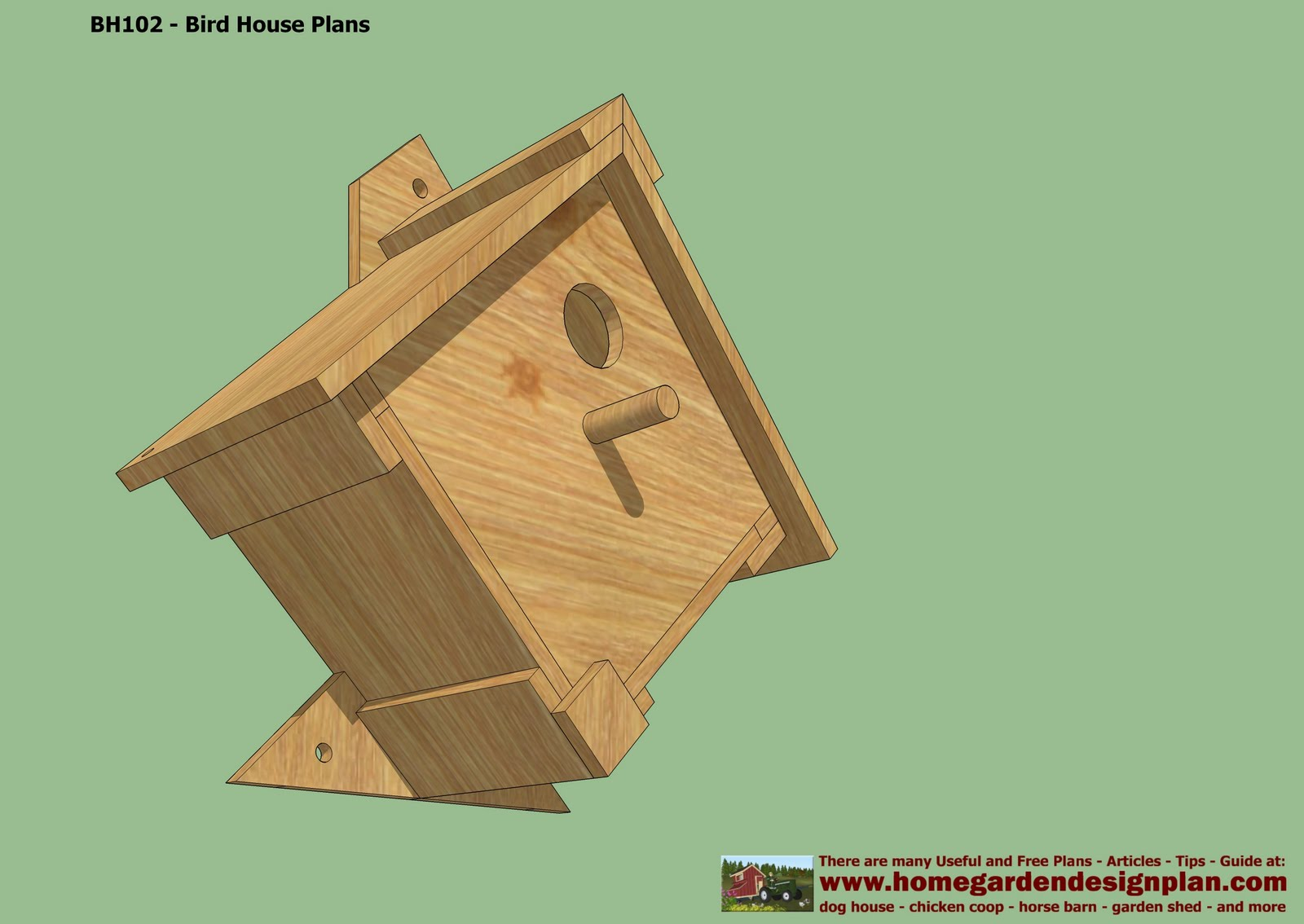 A Plans Woodwork Birdhouse Plans Free Pdf Diy