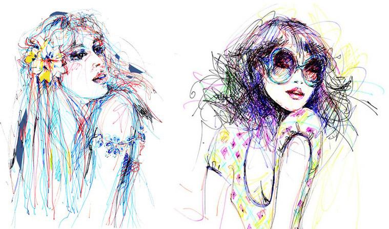 Hannah muller fashion illustrator 87
