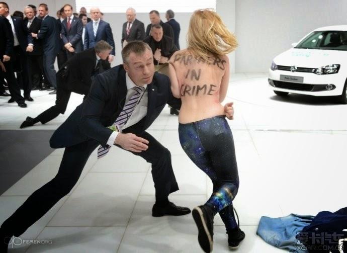 Cewek Telanjang Didepan Presdiden Putin