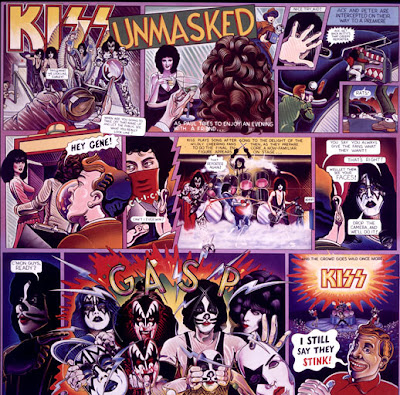 Victor Stabin Unmasked Kiss album cover
