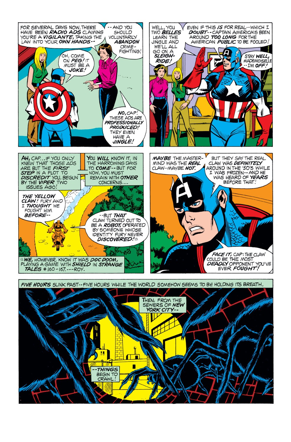 Captain America (1968) Issue #165 #79 - English 10