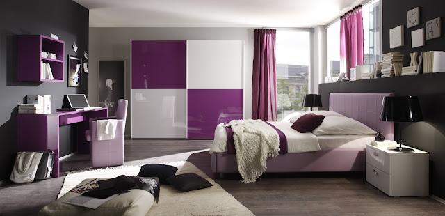 habitaciones modernas de adolecentes mujeres. Black Bedroom Furniture Sets. Home Design Ideas