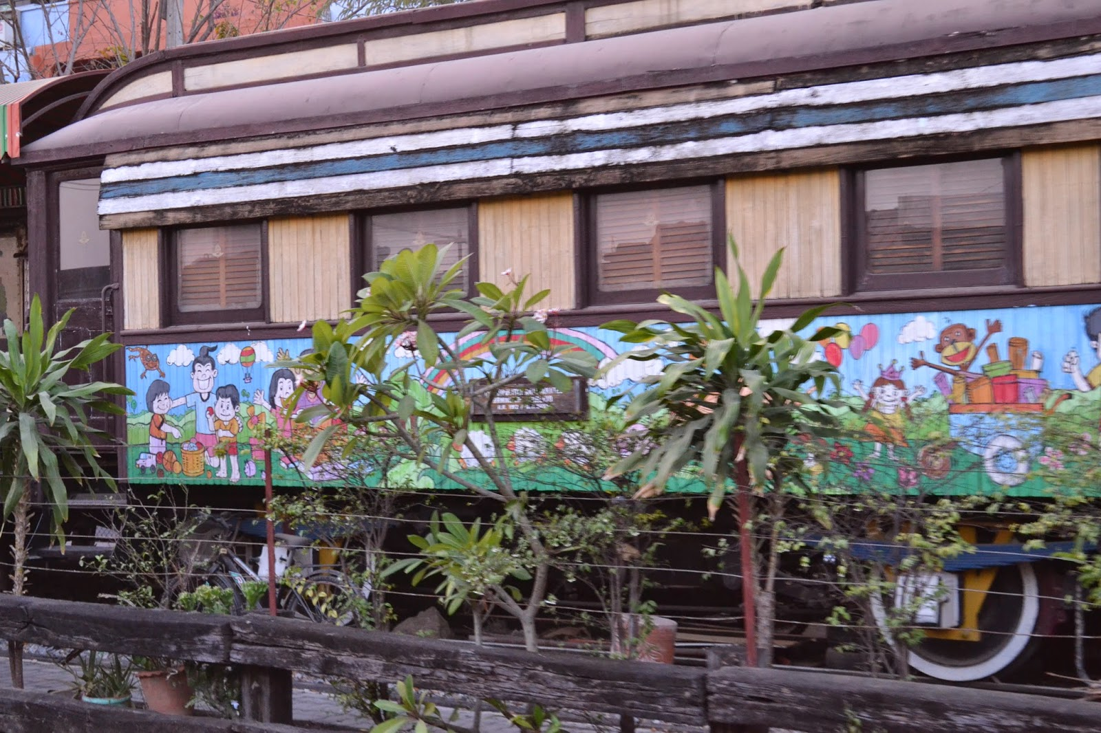bangkok, voyage, train, thailande