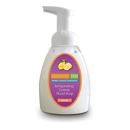 Invigorating Lemon Hand Soap by Radiantly You