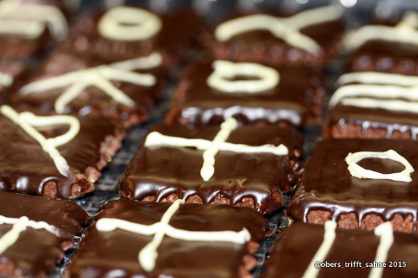 Weihnachtsplätzchen Schokolade Kokos