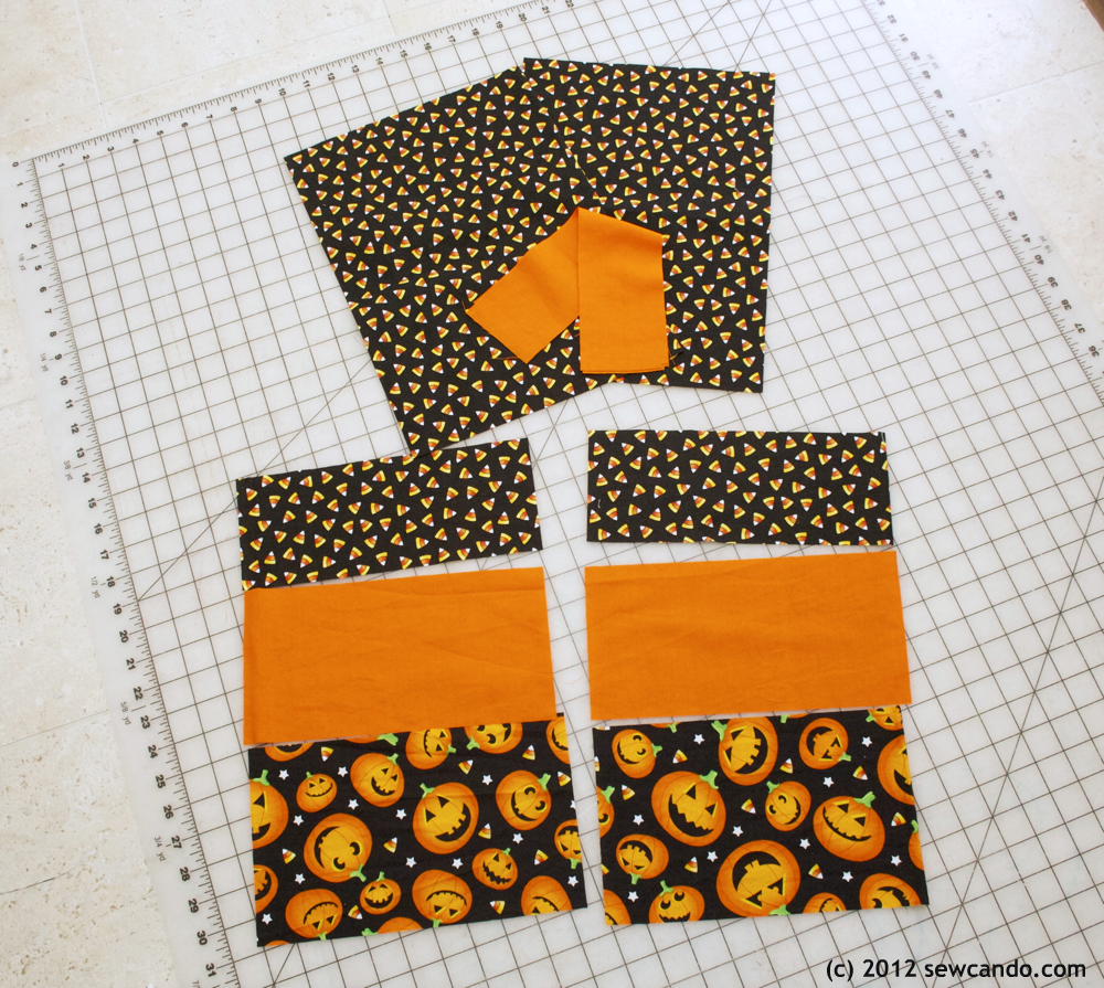 429784a760 Sew Can Do  Sew Easy  Halloween Treat Bags In Under 20 Minutes!