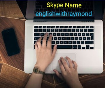 Learn ENGLISH WITH RAYMOND on SKYPE