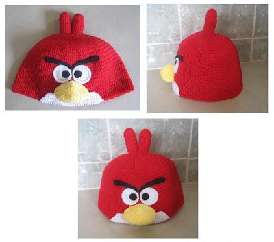 Free Amigurumi Patterns: Angry Birds - Red Bird