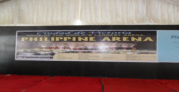 Philippine Arena Banner ~ The Largest Arena in the World