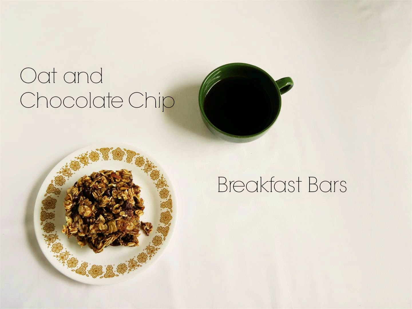Black Spruce Hound: Oat and Chocolate Chip Breakfast Bars