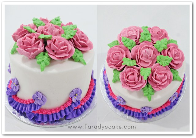 Cake Decorating With Icing Flowers : Royal Icing Flowers Where Everything Is Made With Love